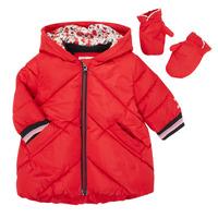 Textil Dívčí Prošívané bundy Catimini CR42013-38 Červená