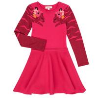 Textil Dívčí Krátké šaty Catimini CR30085-35 Růžová