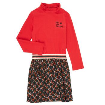 Textil Dívčí Krátké šaty Catimini CR30035-38-C