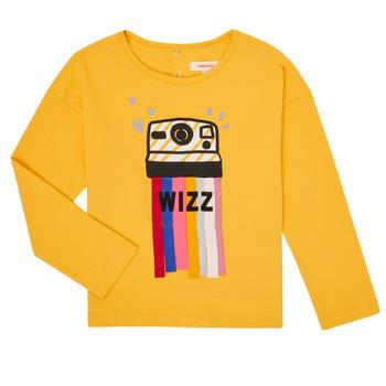 Textil Dívčí Trička s dlouhými rukávy Catimini CR10135-72-C Žlutá