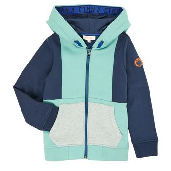 Textil Chlapecké Svetry / Svetry se zapínáním Catimini CR17044-51-C Modrá