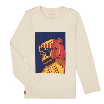 Textil Chlapecké Trička s dlouhými rukávy Catimini CR10064-17-C Bílá