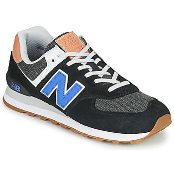 Boty Muži Nízké tenisky New Balance 574 Černá / Modrá