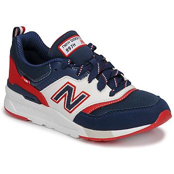 Boty Chlapecké Nízké tenisky New Balance 997 Modrá / Bílá / Červená