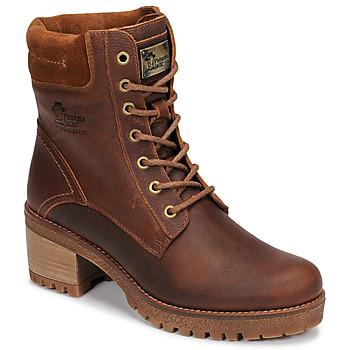 Boty Ženy Kotníkové boty Panama Jack PHOEBE Hnědá
