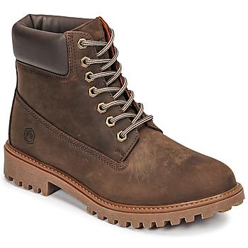 Boty Muži Kotníkové boty Lumberjack RIVER Hnědá