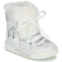 Boty Dívčí Zimní boty Primigi RIDE 19 GTX Stříbrná