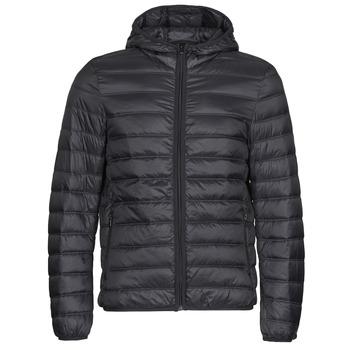 Textil Muži Prošívané bundy Benetton 2BA253EU8 Černá