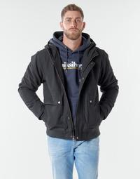 Textil Muži Bundy Quiksilver BROOKS M JCKT KVJ0 Černá