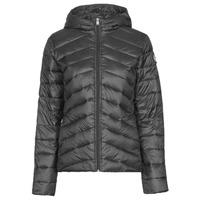 Textil Ženy Prošívané bundy Roxy COAST ROAD HOOD J JCKT KVJ0 Černá