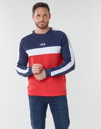 Textil Muži Mikiny Fila CREW SWEATER Modrá / Bílá / Červená
