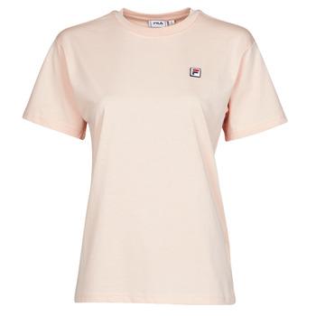 Textil Ženy Trička s krátkým rukávem Fila 682319 Růžová