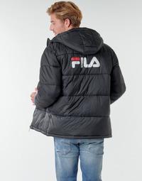 Textil Muži Prošívané bundy Fila SCOOTER PUFFER JACKET Černá
