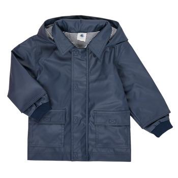 Textil Děti Parky Petit Bateau FETE Tmavě modrá