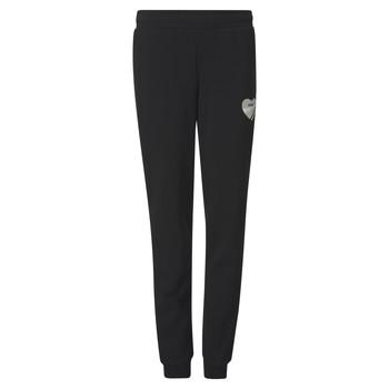 Textil Dívčí Teplákové kalhoty Puma ALPHA SWEAT PANT Černá