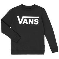 Textil Chlapecké Mikiny Vans VANS CLASSIC CREW Černá