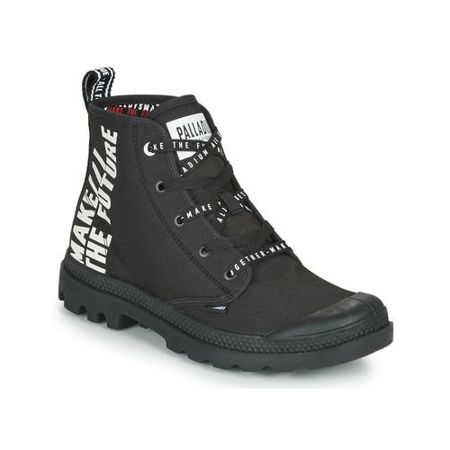 Boty Kotníkové boty Palladium PAMPA HI FUTURE Černá