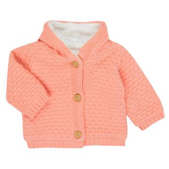 Textil Dívčí Svetry / Svetry se zapínáním Noukie's Z050003 Růžová
