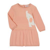 Textil Dívčí Krátké šaty Noukie's Z050082 Růžová