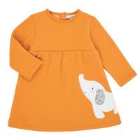 Textil Dívčí Krátké šaty Noukie's Z050083 Oranžová