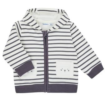Textil Chlapecké Svetry / Svetry se zapínáním Noukie's Z050151 Bílá / Modrá