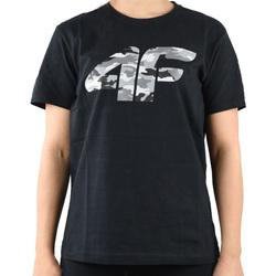 Textil Chlapecké Trička s krátkým rukávem 4F Boy's T-shirt HJL20-JTSM003-20S