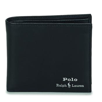 Taška Muži Náprsní tašky Polo Ralph Lauren GLD FL BFC-WALLET-SMOOTH LEATHER Černá