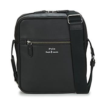 Taška Muži Malé kabelky Polo Ralph Lauren CROSSBODY-CROSSBODY-SMOOTH LEATHER Černá
