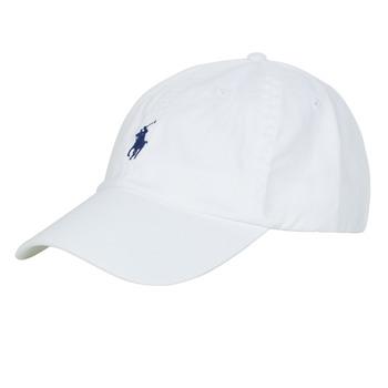Textilní doplňky Muži Kšiltovky Polo Ralph Lauren HSC01A CHINO TWILL Bílá