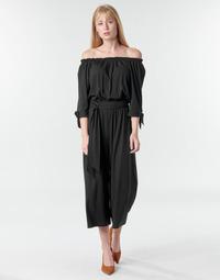 Textil Ženy Overaly / Kalhoty s laclem Lauren Ralph Lauren VANDRIN Černá