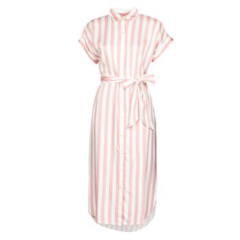 Textil Ženy Společenské šaty Lauren Ralph Lauren CICERO Bílá / Růžová