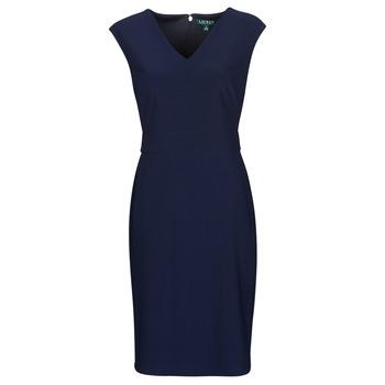 Textil Ženy Krátké šaty Lauren Ralph Lauren JANNETTE Tmavě modrá