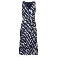 Textil Ženy Společenské šaty Lauren Ralph Lauren CARANA Tmavě modrá