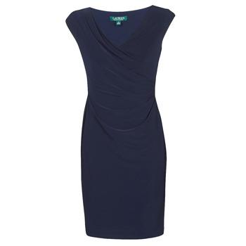 Textil Ženy Krátké šaty Lauren Ralph Lauren BRANDIE Tmavě modrá