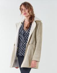 Textil Ženy Kabáty Lauren Ralph Lauren RVRSBL FXSH-COAT Velbloudí hnědá