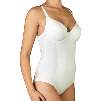 Spodní prádlo Ženy Body Selene BD GIORGIA-C MARFIL Blanco roto