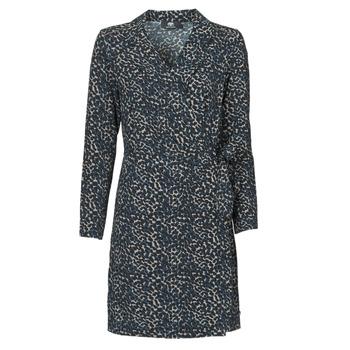 Textil Ženy Krátké šaty Le Temps des Cerises LEANE Modrá