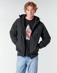 Textil Muži Bundy Volcom HERNAN 5K JACKET Černá