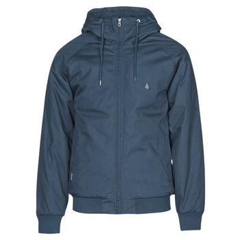 Textil Muži Bundy Volcom HERNAN 5K JACKET Modrá