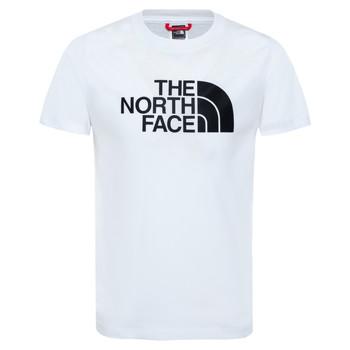 Textil Chlapecké Trička s krátkým rukávem The North Face EASY TEE Bílá