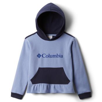 Textil Dívčí Mikiny Columbia COLUMBIA PARK HOODIE Modrá