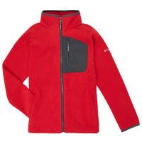 Textil Chlapecké Fleecové bundy Columbia FAST TREK Červená