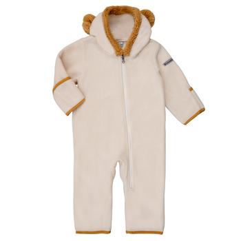 Textil Děti Overaly / Kalhoty s laclem Columbia TINY BEAR Bílá