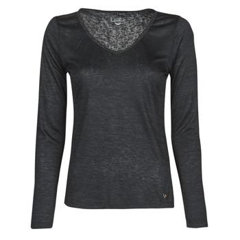 Textil Ženy Trička s dlouhými rukávy Les Petites Bombes ADRIANA Černá
