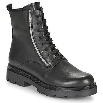 Boty Ženy Kotníkové boty Tosca Blu SF2024S470-C99 Černá