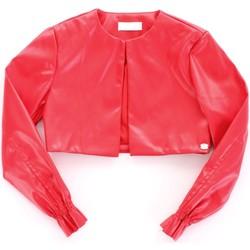 Textil Dívčí Kožené bundy / imitace kůže Byblos Blu BJ14994 Červená