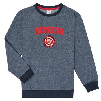 Textil Chlapecké Mikiny Redskins SW-H20-04-NAVY Tmavě modrá