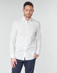 Textil Muži Košile s dlouhymi rukávy G-Star Raw DRESSED SUPER SLIM SHIRT LS Bílá