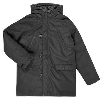 Textil Chlapecké Prošívané bundy Guess L0BL08-WDEH0-JBLK Černá