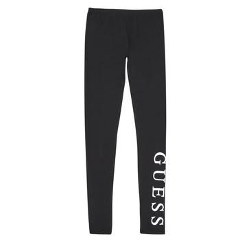 Textil Dívčí Legíny Guess J94B16-K82K0-JBLK Černá